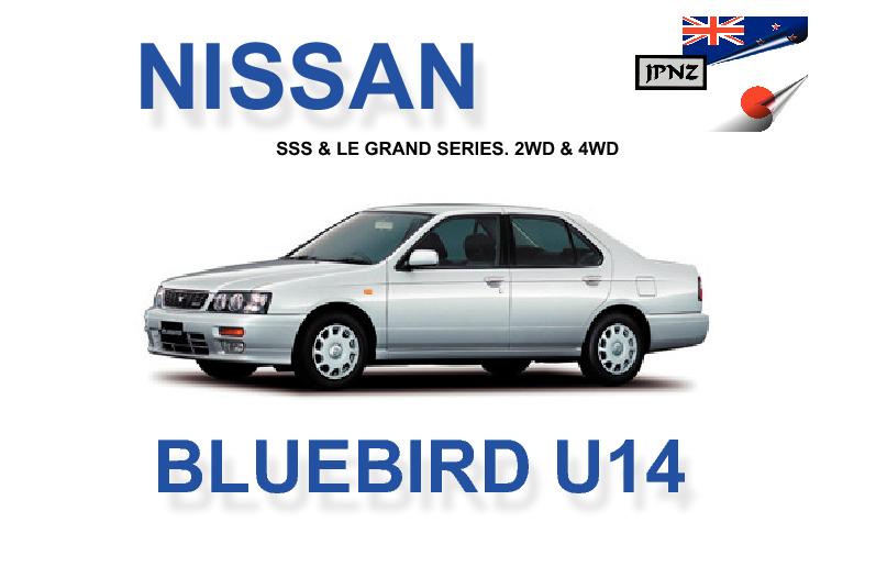 nissan bluebird car owners manual 1996 2001 u14 model rh jpnz co nz Nissan Bluebird Sylphy New Nissan Bluebird