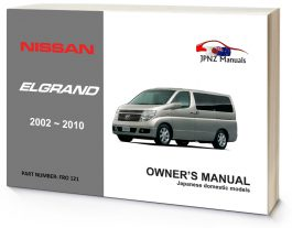 Lexus – IS250 / IS350 2005 – 2013 Owner's Manual - JPNZ