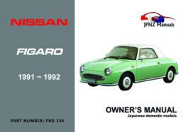 Nissan - Figaro Owner's User Manual In English | 1991 - 1992