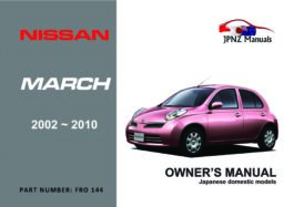 Nissan - March Car Owners User Manual In English | 2002 - 2010