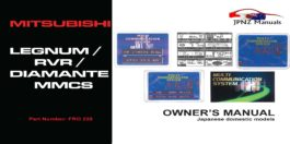 Mitsubishi - Multi Communication System Legnum / RVR / Diamante MMCS In English
