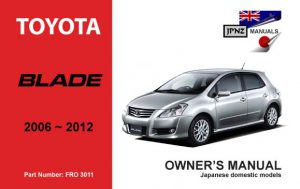 toyota alphard car owners manual 2008 2015 rh jpnz co nz toyota alphard owners manual free download Car Owners Manual