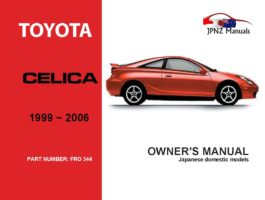Toyota - Celica Owners User Manual In English | 1999 - 2006
