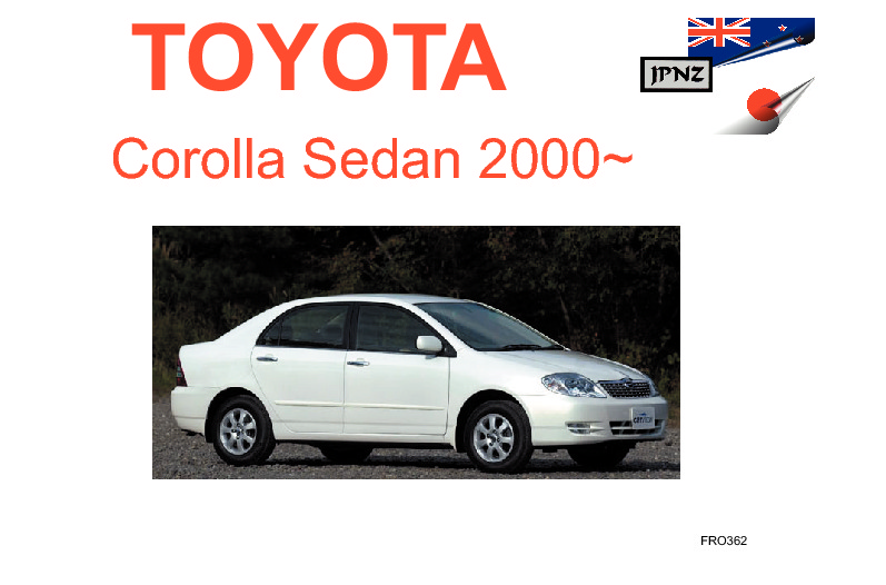 toyota corolla sedan car owners manual 2000 2006 e120 rh jpnz co nz 2006 toyota corolla user manual pdf 2006 toyota corolla user manual pdf