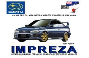 2004 subaru impreza owners manual