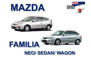 mazda familia service manual