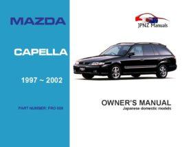 Mazda - Capella Owners User Manual In English | 1997 - 2002