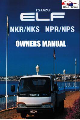 Isuzu - Elf car owners user manual in English | 1993 - 2006