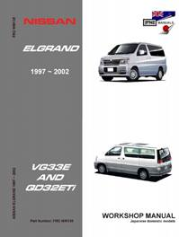 nissan elgrand e50 workshop service manual 1997 2002 rh jpnz co nz nissan elgrand e50 service manual nissan elgrand e50 owners manual english