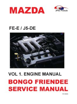 Mazda Bongo Friendee Workshop Service Manual In English 1995~2006