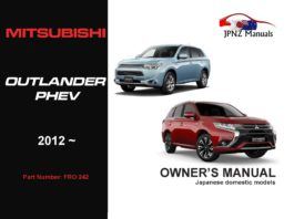 Mitsubishi – Outlander PHEV Owners User Manual In English | 2012 – Present