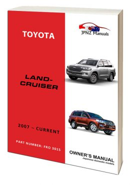 japanese cars owners manuals workshop manuals