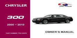 Chrysler – 300 c owners user manual in English | 2005 – 2010