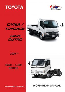 Toyota – Dyna Toyoace Hino Dutro owners user/ Service / Worksop manual in English | 2000 – current