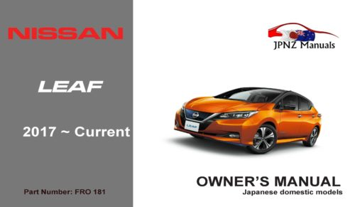 Nissan – Leaf Owners User Manual in English | 2017 – Current